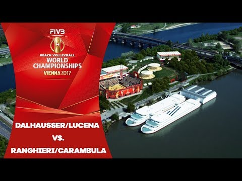 Dalhausser/Lucena (USA) v Ranghieri/Carambula (ITA) - FIVB Beach Volleyball World Champs
