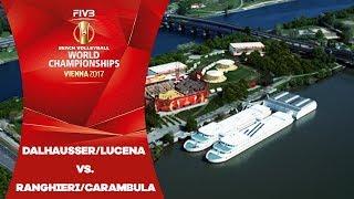 Dalhausser/Lucena (USA) v Ranghieri/Carambula (ITA) - FIVB Beach Volleyball World Champs