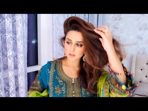get-ready-with-me-pakistani-wedding-2019-|-solotica-contact-lens-try-on-|-hadia