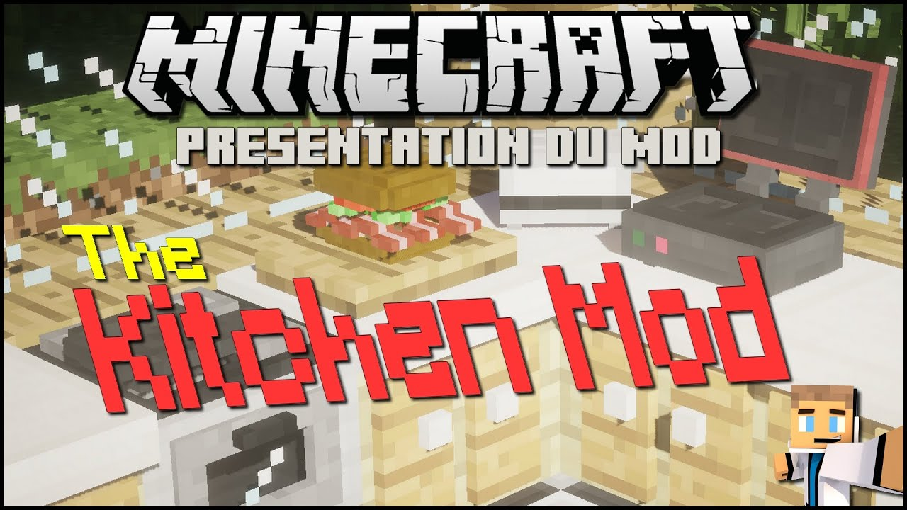 Minecraft Kitchen Mod 1.8 Minecraft Mod The Kitchen Mod 1 7 10 Fr Hd