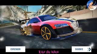 Asphalt 8 - Audi R8 E-tron SE RANK 1564 | MULTIPLAYER  compilation #3