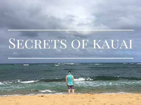 Secret spots to see while at Kauai