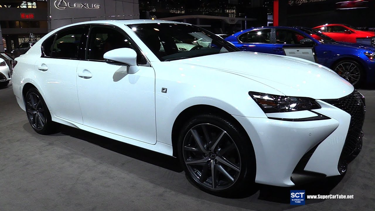 2016 Lexus GS 350 F Sport AWD   Exterior And Interior Walkaround   2016 New  York Auto Show   YouTube