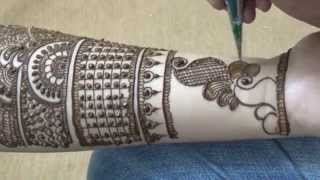 Full Hand Bridal Mehendi Design Vid 1:Best Dulhan Mehendi(Beautiful)