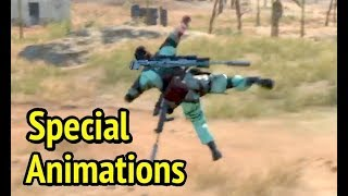 Special Animations in Metal Gear Solid V: Phantom Pain (MGS5)