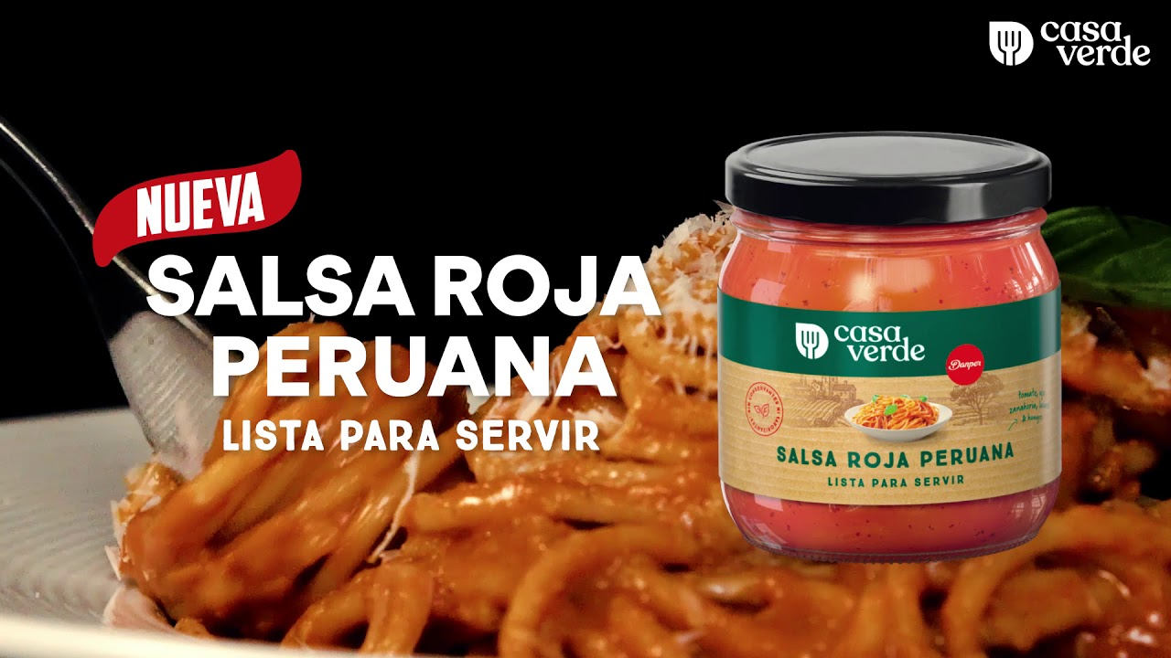 Nueva Salsa Roja Peruana Casa Verde Youtube