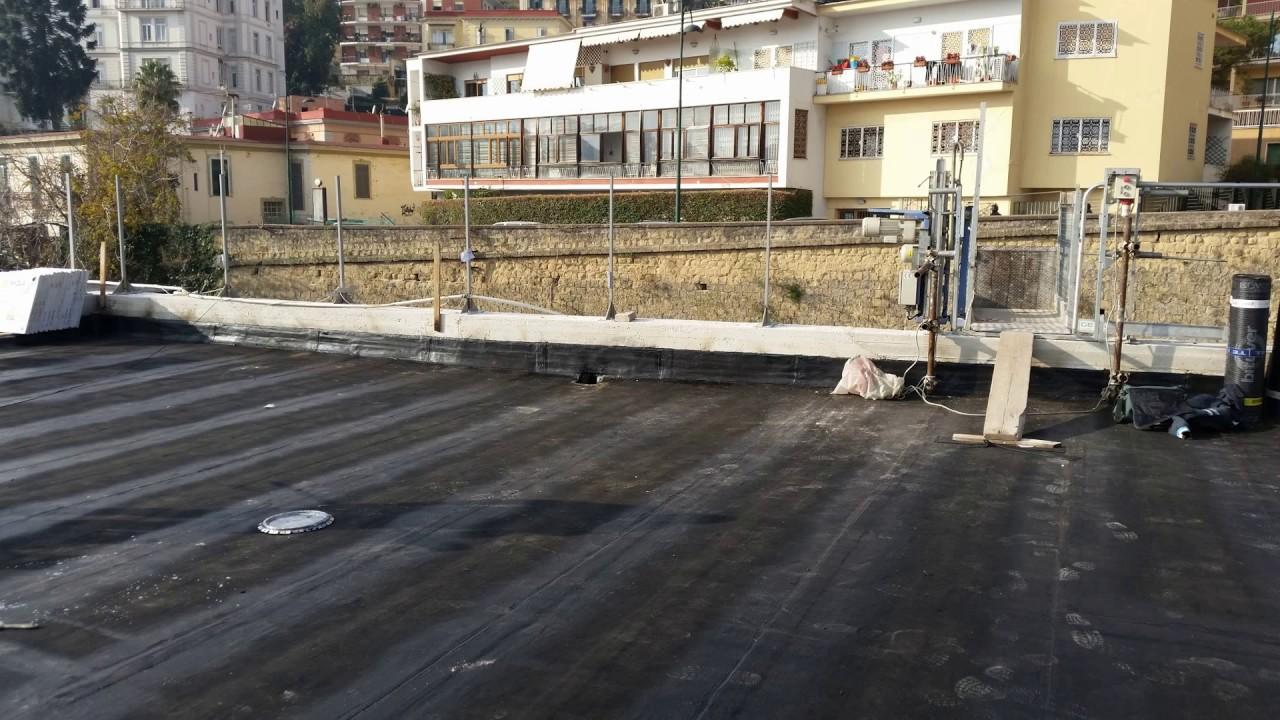 impermeabilizzazione di un terrazzo e trasformato in terrazza ...