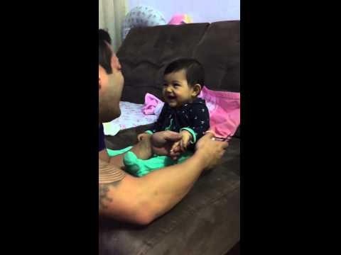 Too Cute: Baby Fake Cries When Dad Tries To Cut Nails