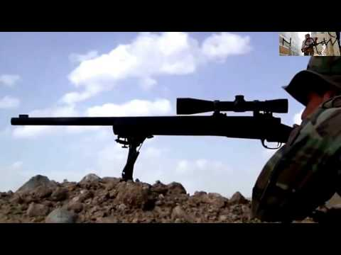War in Afghanistan - Sniper , Marines have a training