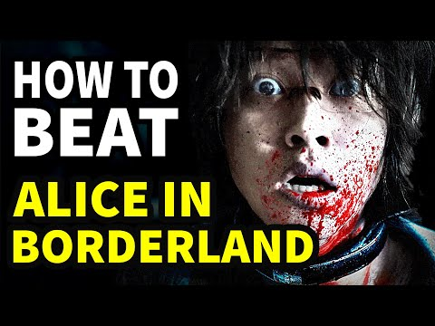 """How To Beat Every DEATH GAME In """"Alice In Borderland"""""""