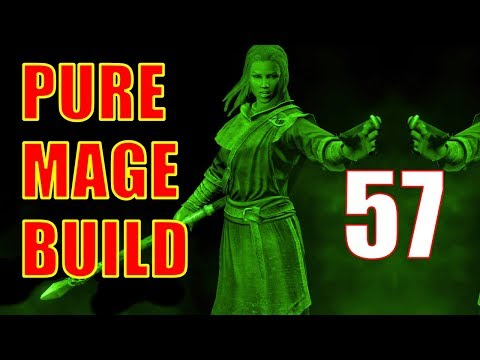 Skyrim Pure Mage Walkthrough NO WEAPONS NO ARMOR Part 57 - The Staff of Magnus [1/2] thumbnail