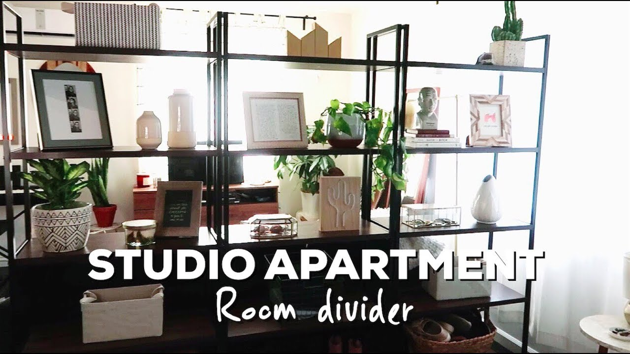 HOW TO: Divide a Studio Apartment - YouTube
