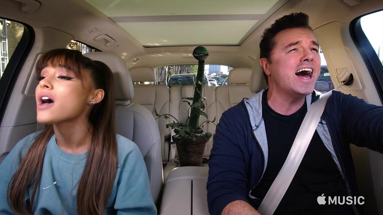 Carpool Karaoke: The Series — Ariana Grande & Seth MacFarlane Preview — Apple TV app - YouTube