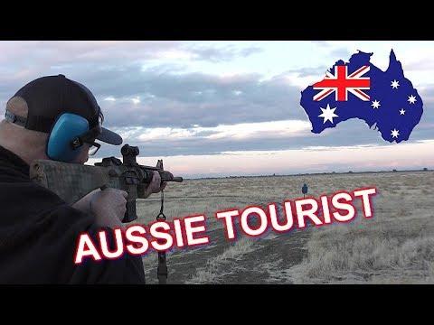Australian Viewer Comes And Shoots A Bunch Of Guns
