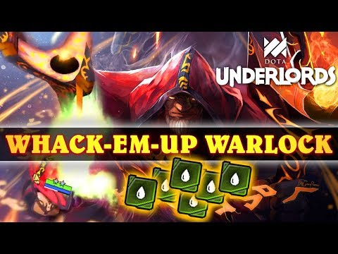 HE's SO BIG! | Wacky STACKED Warlock + Bloodbound Memes - The Sequel | Dota Underlords