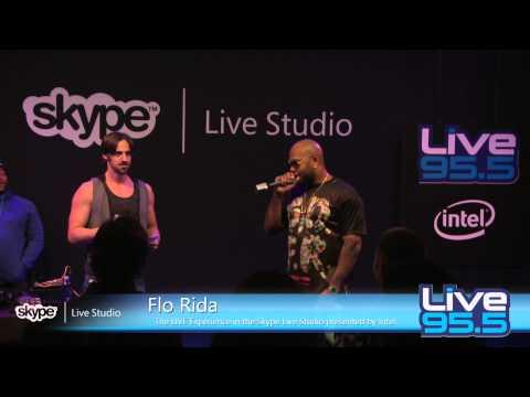 Flo Rida - Interview (LIVE 95.5)