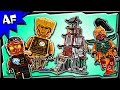 Lego Ninjago LIGHTHOUSE SIEGE 70594 Stop Motion Build Review