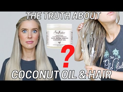 Coconut Oil For Hair... Yes or No? DIY Coconut Oil Hair Mask + Coconut Oil Benefits