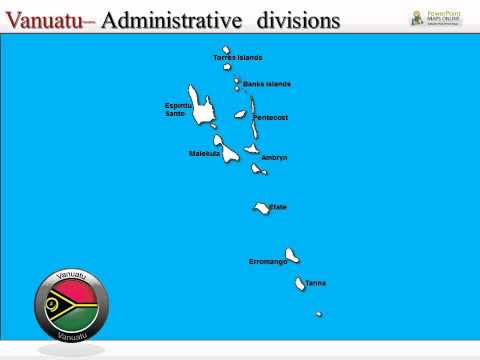 PowerPoint Templates on Vanuatu Island