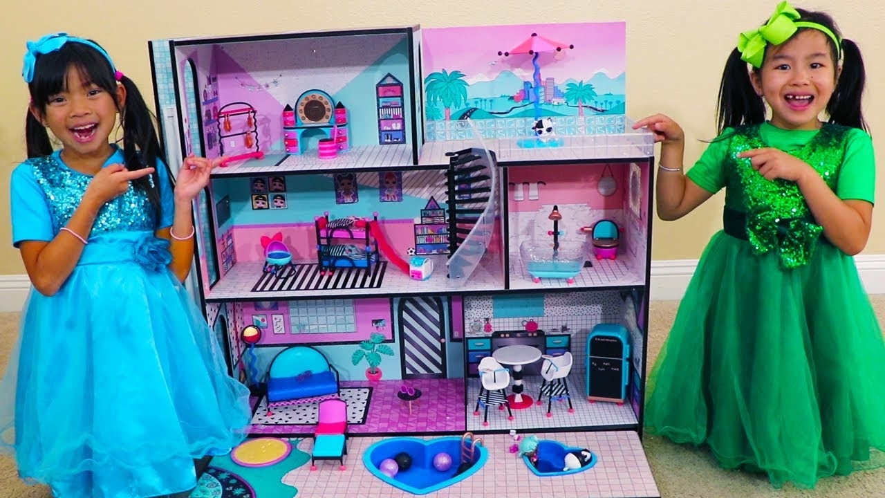Toy House Colours