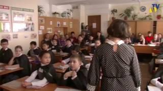 4 А класс - тема Симметрия (Мещерикова А.И.) 2016