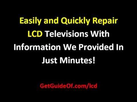 LCD TV Repair Tips