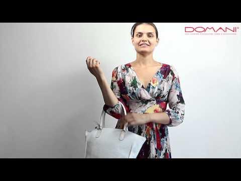 Gillian/ Обзор женской сумки Gillian / Обзоры итальянских сумок от Domani.ru