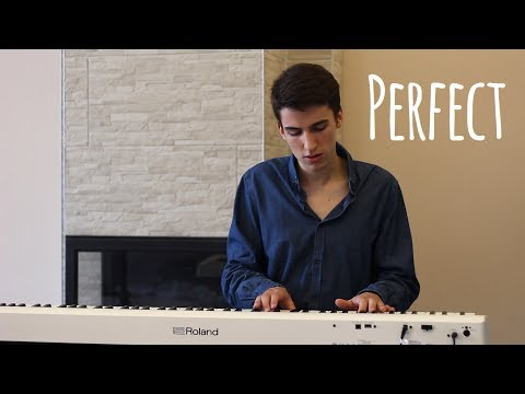 Ed Sheeran - Perfect (Piano cover by Daniel Toth)