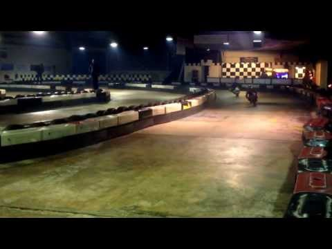 Jimmy lee parker Minimoto at ace karting Walsall 6 years old