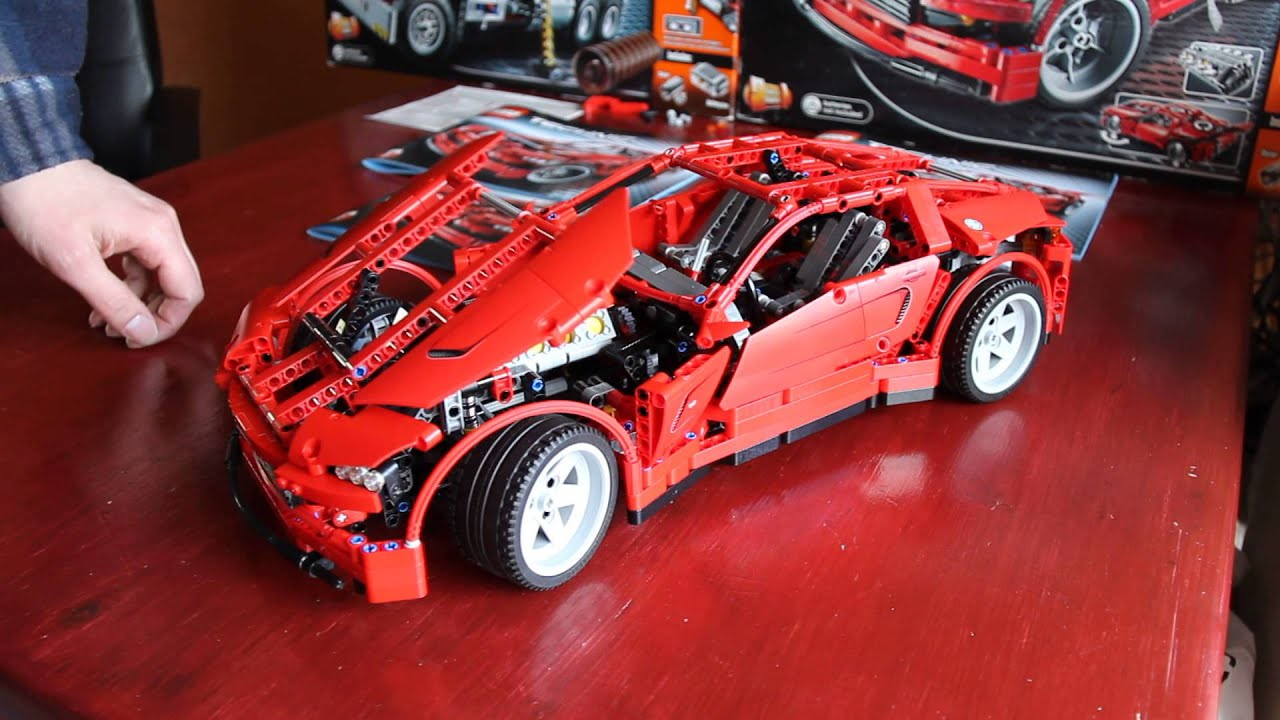 lego technic 8070 supercar with power functions youtube. Black Bedroom Furniture Sets. Home Design Ideas
