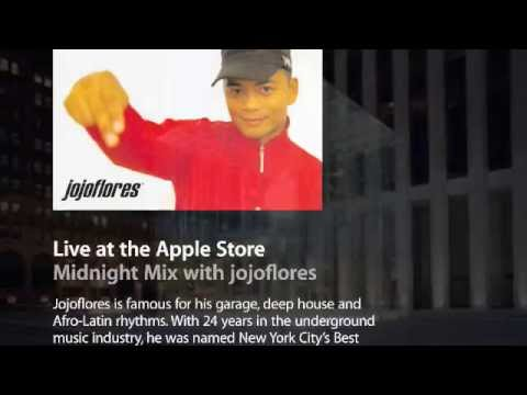 jojoflores at 5th Ave Apple Store NYC New York House Music Best of Lounge Playlist
