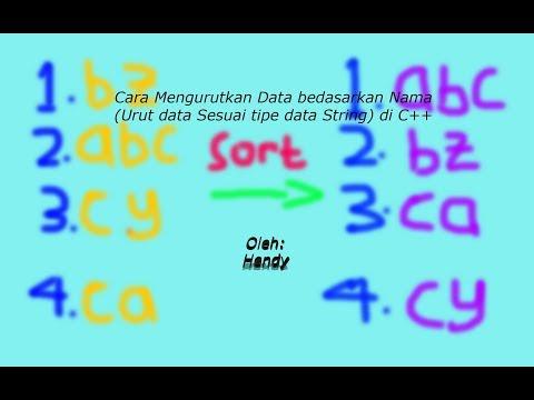 Cara Input Nama C++