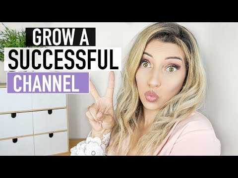 HOW TO START A SUCCESSFUL YOUTUBE CHANNEL + MAKE MONEY