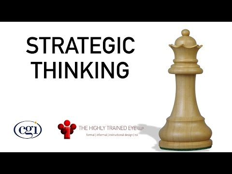 Strategic Thinking 101 - Getting Managers to see the Bigger Picture