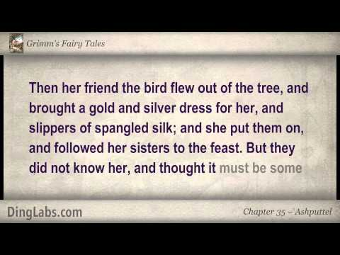 Ashputtel (like Cinderella) - Grimm's Fairy Tales By The Brothers Grimm - 35