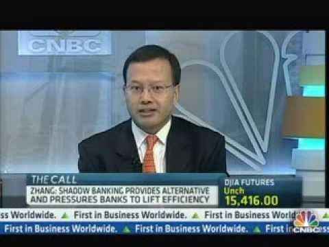 Joe Zhang - Behind China's shadow banking system @ CNBC