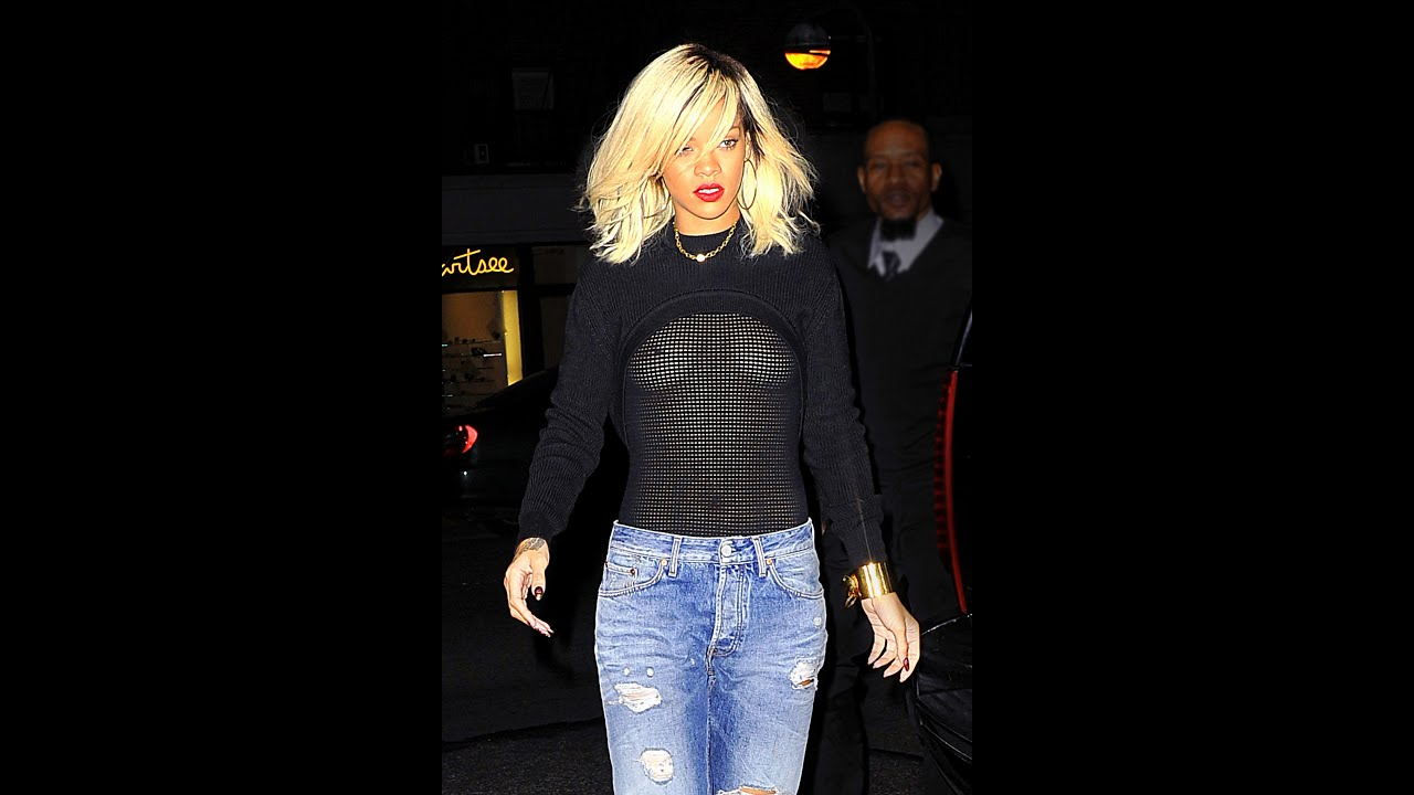 through Rihanna see