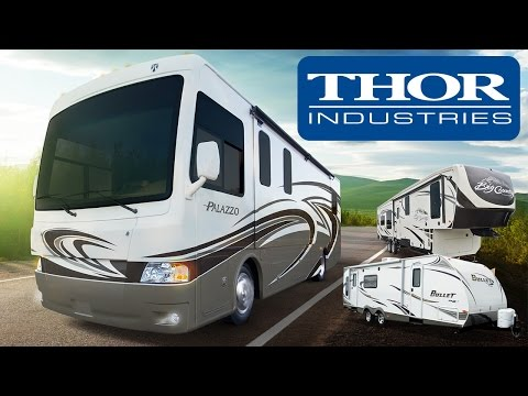Fox Business on the #1 RV Manufacturer in the World, Thor Industries NYSE THO