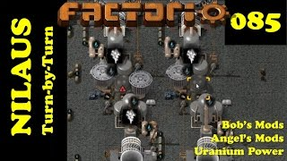 Lets Play Factorio S3E85 - Increasing Nuclear Power and Oil Production