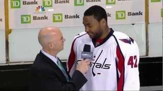 Caps Win, Joel Ward Racist Tweets, A View on Boston, Predictions.