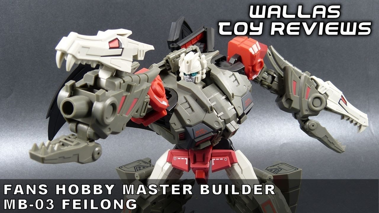 New Transformers toy FansHobby MB-03 Feilong Master Builder Action figure