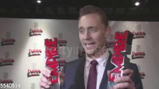 Tom Hiddleston on winning the Hero Award