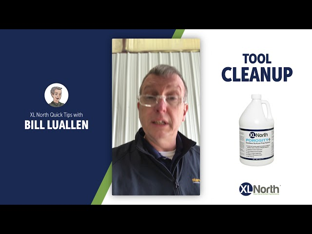 XL North Quick Tip #4: How to Clean Leveling Tools with XL Porosity+