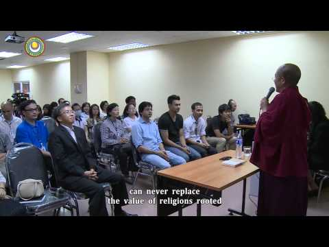 Faiths and Times (Lecture at Mahidol University, Thailand)