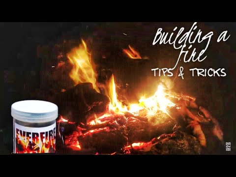 How to build a campfire in damp conditions& a GIVEAWAY