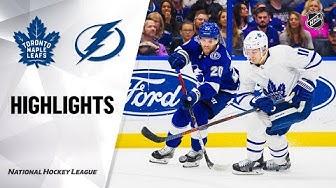 NHL Highlights | Maple Leafs @ Lightning 2/25/20