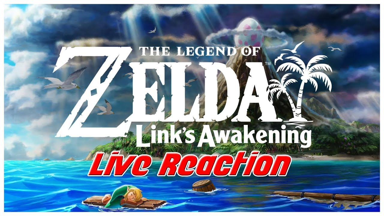 The Legend of Zelda: Link's Awakening Switch LIVE REACTION!
