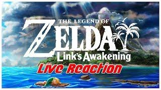 The Legend of Zelda: Link's Awakening Switch LIVE REACTION!