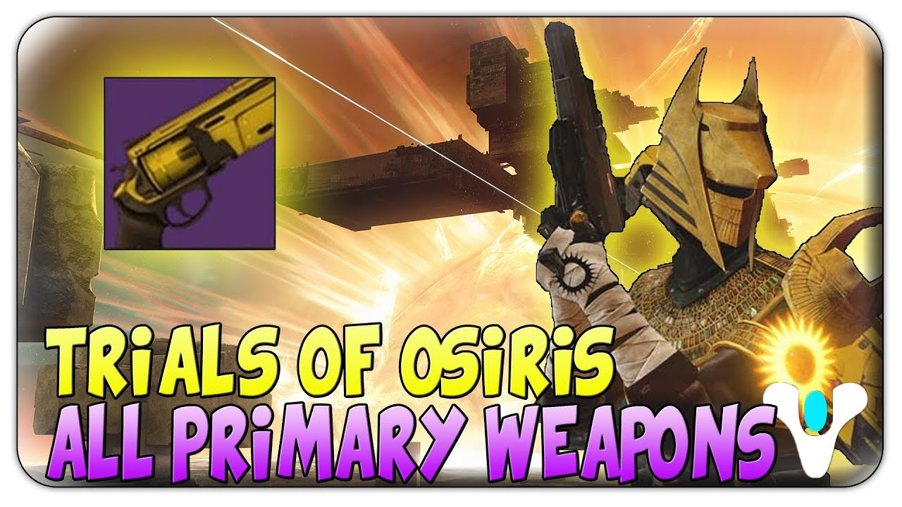 how to get trials weapons destiny 2