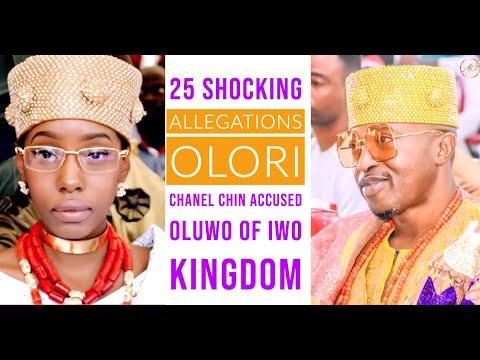 Top 25 Shocking Allegations Olori Chanel Chin Accused Ex-Husband Oluwo Of IwoLand!
